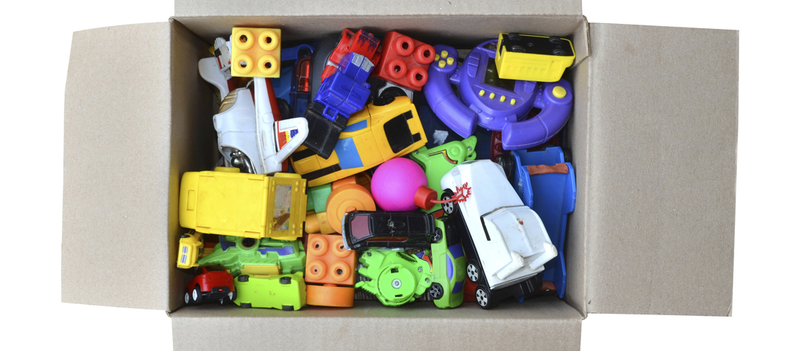toy in a box